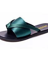 Women's Sandals Summer Slingback PU Casual Wedge Heel Buckle Walking
