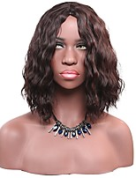 Medium Dark Brown Jerry Curly Wig for Women Costume Cosplay Synthetic Wigs