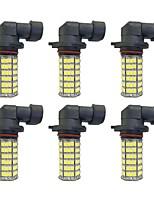 4W 9005 9006 H8 H11 120SMD2835  Headlight/Foglight Lamp for Car White DC12V 6Pcs