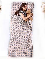 Febgtu® 115x220cm Sleeping Bag Portable Travel Sleeping Bags Polyster Camping In Good Health Hotel Sleeping Bag With Pattern Lining 1 Person