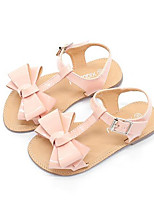 Girls' Sandals Comfort Summer Leatherette Casual Blushing Pink Beige Black Flat
