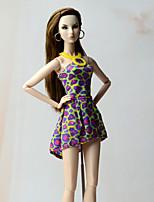 Vestidos Vestido Para Boneca Barbie Vestidos Para Menina de Boneca de Brinquedo