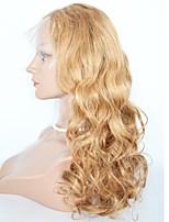 Парики из искусственных волос Лента спереди Естественные кудри Клубничный блондин Medium Auburn Темно-рыжий Природные волосы Парик из