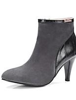 Da donna Stivaletti Innovativo Stivali Stivaletti alla caviglia Scarpe formali Comoda Scamosciato Pelle nubuck Autunno InvernoMatrimonio