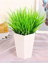 6 Piece / Set Imitation Grass/Plastic Grass/Green Plants/Tree Decorations/Flower Arrangement Materials