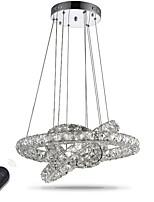 Lustre led éclairage intérieur moderne gradable plafond lumières suspendues lustres luminaires avec télécommande