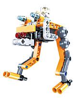 Набор для творчества Конструкторы Обучающая игрушка Робот Для получения подарка Конструкторы Боец Робот Пластик Ацетат / пластик6 лет и