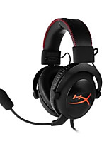 Kingston HyperX KHX - HSCC - BK - FR Headband Wired Headphones Dynamic Aluminum Alloy Gaming Earphone Noise-isolating HIFI Headset