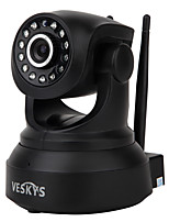veskys® 720p hd wi-fi macchina fotografica w / 1.0mp smart telecomando monitoraggio supporto wireless 64gb tf card