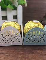 50pcs Crown Flower Cupcake Wrappers Wedding Decoration Birthday Party Favors Supplies Chocolate Candy Box bar Cake Baby Shower.