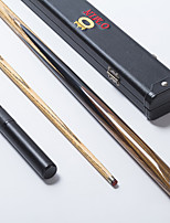 Omin Green Wood Snooker Cue Professional 1piece Black Ebony Butt Ash shaft Handmade Billiard