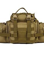 20 L Waist Bag/Waistpack Camping / Hiking Outdoor Moistureproof/Moisture Permeability Outdoor Nylon