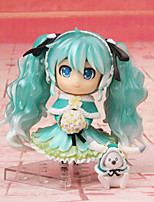 Anime Action Figures Inspired by Vocaloid Hatsune Miku PVC CM Model Toys Doll Toy 1pc
