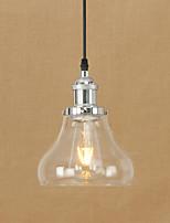Lumière pendentie moderne / contemporaine rétro peinture de pays caractéristique pour led edison ampoule mini style designers metalliving