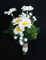 Ramos de Flores para Boda Ojales Boda Ocasiones especiales Tela de Encaje Aprox.6cm