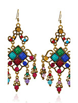 Women's Earrings Set Basic Geometric Rhinestone Alloy Jewelry For Party Gift Evening Party Club Street