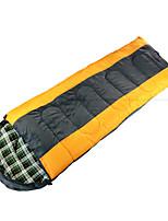 Спальный мешок Прямоугольный Односпальный комплект (Ш 150 x Д 200 см) 5-15 Пористый хлопокX75 Отдых и ТуризмСохраняет тепло