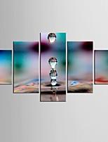 Отпечатки на холсте 5 панелей Холст Любые формы С картинкой Декор стены For Украшение дома
