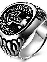 Settings Ring Band Ring  Luxury Women's Euramerican Fashion Titanium Steel Icon Style Birthday Wedding Movie Gift Jewelry
