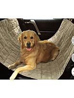 Собака Чехол для сидения автомобиля Животные Коврики и подушки Водонепроницаемость Компактность Складной Черный Бежевый Серый