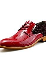 Для мужчин Туфли на шнуровке Формальная обувь Обувь для дайвинга Весна Осень Искусственное волокно Свадьба Повседневные Для вечеринки /