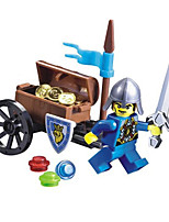 Building Blocks For Gift  Building Blocks Chariot Plastics All Ages 6 Years Old and Above Toys PCS25