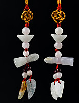 Diy pendentifs automobiles style chinois anneaux faits à la main perles perles mascots décorations de mode pendentif
