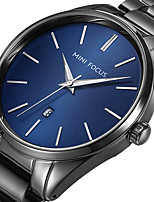 MINI FOCUS Men's Sport Fashion Watches Wristwatch Luxury Waterproof Quartz Calendar Stainless Steel Band Clock Relogio Masculino Hombre