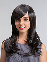Romantic Refreshing Oblique Fringe Long Curly Hair Synthetic Wigs