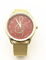 JUBAOLI Women's Fashion Watch Unique Creative Watch Chinese Quartz Alloy Band Gold
