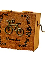 музыкальная шкатулка Велоспорт Пластик Дерево