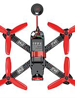 Drone Furious215 4 canaux Avec Caméra HD Eclairage LED Avec Caméra Quadri rotor RC Télécommande Caméra Câble USB 1 Batterie Pour Drone