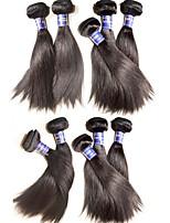 Wholesale silk straight virgin hair bundles 1kg 10pcs lot 100% original peruvian virgin human hair weaves top grade quality no shedding no tangles #1b