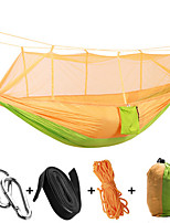 Camping Hammock with Mosquito Net Collapsible Anti-Mosquito Nylon for Camping Camping / Hiking / Caving Outdoor