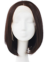 Short Inch Silk Straight Bob Wigs Glueless Full Lace Conveniently Wearing Indian Human Hair Bob Wigs For Black Women