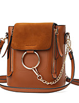 Women Bags All Seasons PU Shoulder Bag with for Wedding Event/Party Casual Formal Office & Career Blue Black Gray Brown