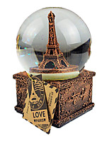 Balls Music Box Toys Round Tower Not Specified 1 Pieces