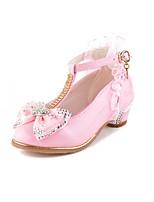 Девочки На плокой подошве Удобная обувь Оригинальная обувь Детская праздничная обувь Дерматин Осень Зима Повседневные Для праздника