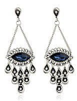 Women's Earrings Set Basic Metallic Rhinestone Alloy Jewelry For Gift Evening Party Club
