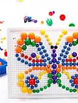 Building Blocks For Gift  Building Blocks Round Rectangular Circular Plastics 5 to 7 Years Toys