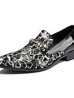 Для мужчин Мокасины и Свитер Удобная обувь Весна Лето Осень Зима Лакированная кожа Кожа Свадьба Повседневные Для вечеринки / ужина Пряжки
