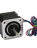 3d принтер nema 17 шаговый двигатель линейный винт 2-фазный 3d принтер гравировальный станок