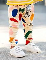 Boys' Print Pants-Cotton Spring Fall Graffiti Long Pants Autumn Kids Boys Pants
