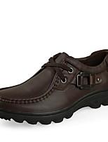 Для мужчин Туфли на шнуровке Удобная обувь Формальная обувь Обувь для дайвинга Осень Зима Натуральная кожа КожаСвадьба Повседневные Для