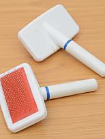 Cat Dog Health Care Cleaning Comb Portable Massage Orange