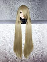 Perruques de Cosplay Cosplay Cosplay Manga Perruques de Cosplay 80 CM Fibre résistante à la chaleur Unisexe