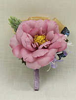 Свадебные цветы Бутоньерки Свадебное белье Для специальных случаев Около 7 см