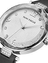 Damen Modeuhr Armbanduhr Einzigartige kreative Uhr Armbanduhren für den Alltag Quartz Echtes Leder Band Bettelarmband Cool Bequem Kreativ