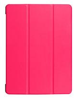 Для футляра для чехлов прозрачный оригами полный корпус корпус сплошной цвет твердая кожа pu для huawei m3 lite 10.1 bah-w09 / al00