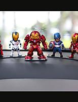 DIY автомобильных украшений мультфильм аниме мстителей руку альянса сделать автомобиль подвеска&Украшения пвх